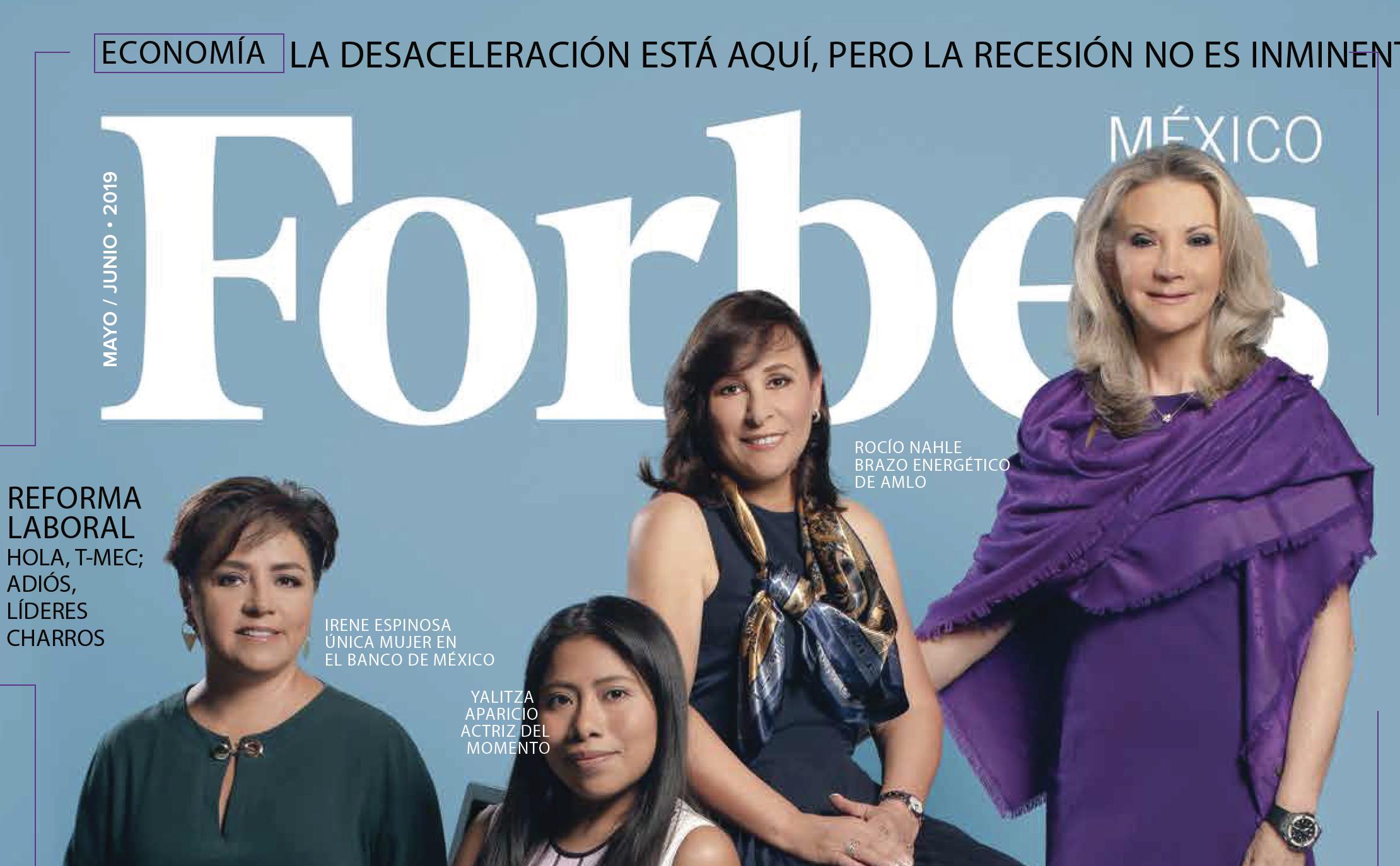 Reportaje en Forbes